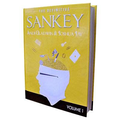 Definitive Sankey Volume 1 (Book and DVD) by Jay Sankey and Vanishing Inc. Magic - Book