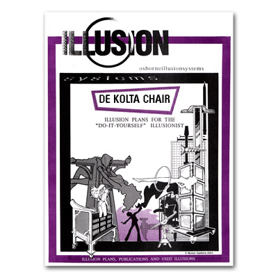 DeKolta Chair Illusion Plans by Illusion Systems - Tricks