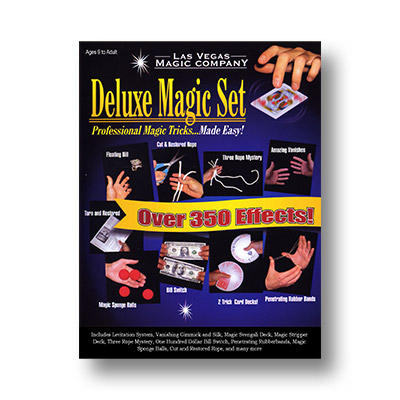 Deluxe Magic Set - Las Vegas Magic Company - Kit de Magia para Niños