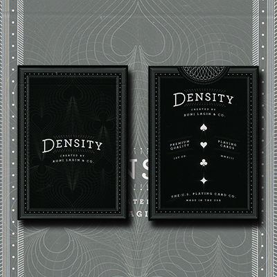 Density Playing Card Deck by Roni Lagin