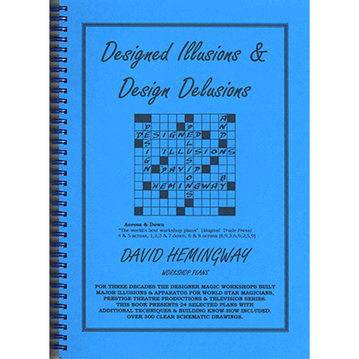 Designed Illusions & Design Delusions - David Hemingway - Libro de Magia