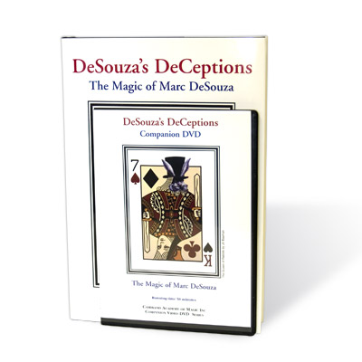 DeSouza's Deceptions (With DVD) by Marc DeSouza - Book