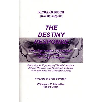The Destiny Response book Richard Busch