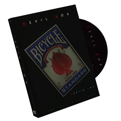 The Devil Box (Blue) by Martin Goh (DVD & Gimmick) - Trick