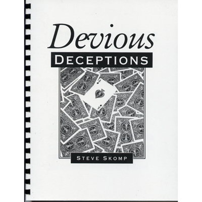 Devious Deceptions book Steve Skomp