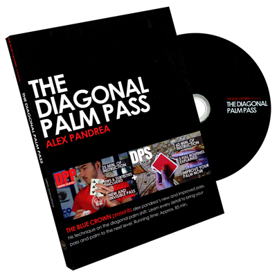 The Diagonal Palm Pass by Alex Pandrea - DVD