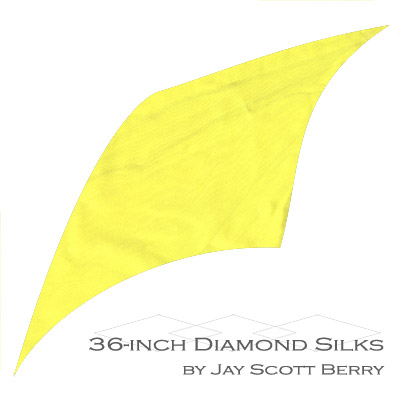"36"" Diamond Silk, 100% Silk (YELLOW) by Jay Scott Berry - Tricks"