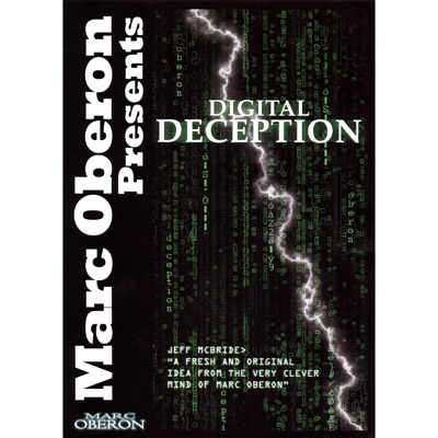 Digital Deception (With DVD) by Marc Oberon - Trick