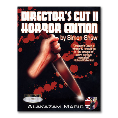 Director's Cut 2 Horror w/DVD by Simon Shaw and Alakazam Magic - Trick