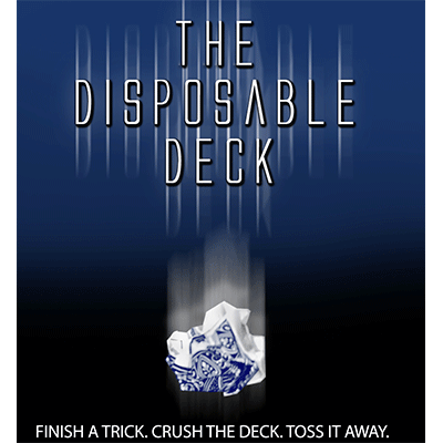 Disposable Deck 2.0 (blue) by David Regal