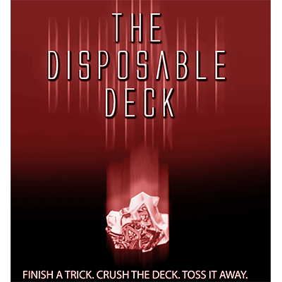 Disposable Deck 2.0 (red) by David Regal