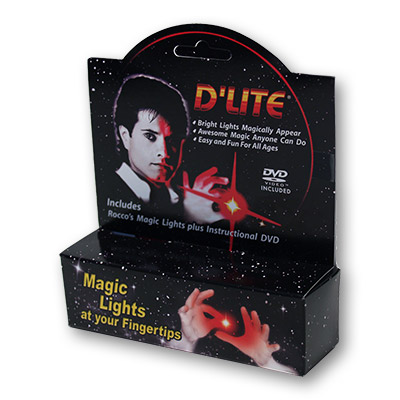 D'Lite Bonus Pack Regular Pair Red with DVD  - Trick
