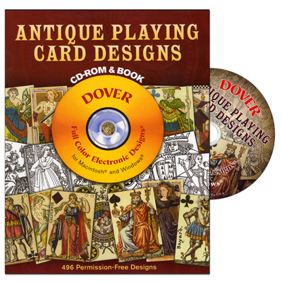 Antique Playing Card Designs by Dover Publications - Book