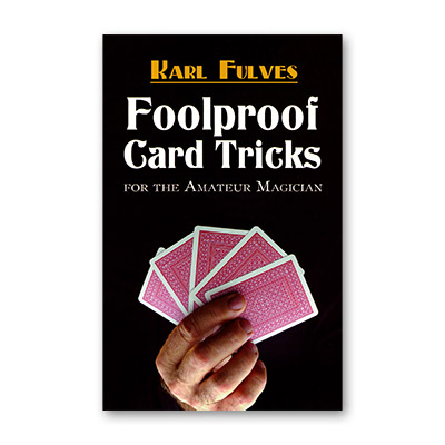 Foolproof Card Tricks by Karl Fulves - Book
