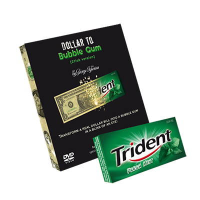 Dollar to Bubble Gum (Trident)