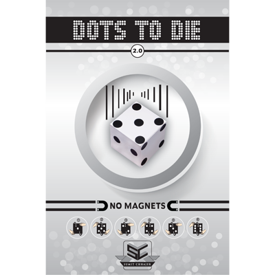 Dots to Die 2.0 (White) by Sumit Chhajer - Trick