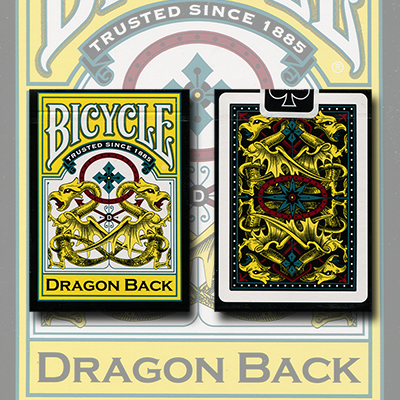 Cartas Bicycle Dragon Yellow - Gamblers Warehouse