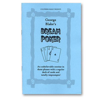 Dream Poker by George Blake - Book