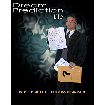 Dream Prediction Lite Book, DVD, Props