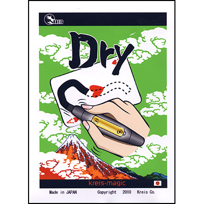 Dry (Japanese High Tech Marker Trick)) by Kreis Magic - Trick