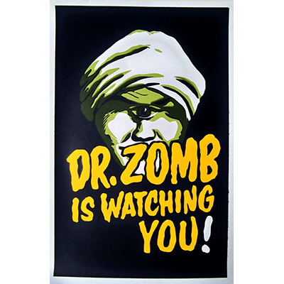 Dr. Zomb Poster - Trick