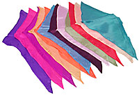 12 inch Diamond Cut Silks - 12-pack (Assorted Colors) by Vincenzo Di Fatta