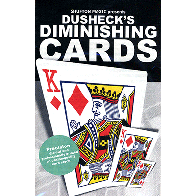 Steve Dushecks Diminishing Cards - Steve Dusheck