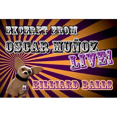Billiard Balls  by Oscar Munoz (Excerpt from Oscar Munoz Live) v
