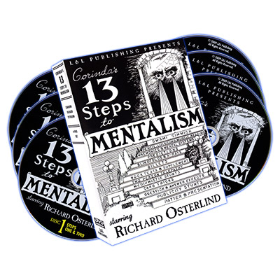13 Escalones del Mentalismo (6 DVDs) - Richard Osterlind