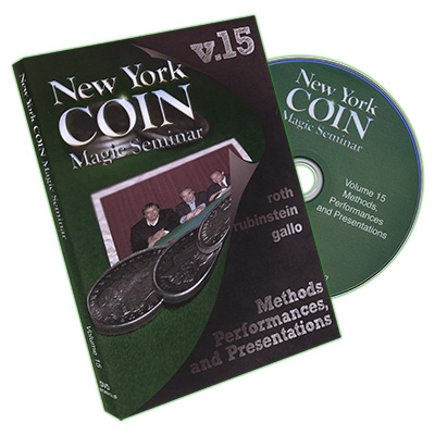 New York Coin Seminar Volume 15: Methods, Performances, and Presentations - DVD