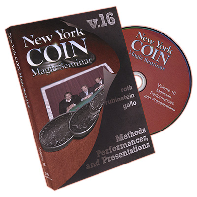 New York Coin Seminar Volume 16: Methods, Performances, and Presentations - DVD