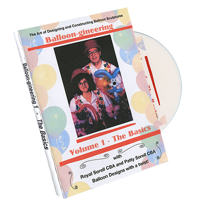 Balloon-gineering Vol 1 - Diamonds Magic - DVD