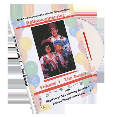 Balloon-gineering Vol. 1 by Diamond's Magic - DVD
