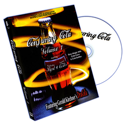 Conjuring Cola Vol 1 by Nicholas Byrd and James Coats - DVD