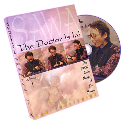 The Doctor Is In - The New Coin Trucos de Magia de Dr. Sawa Vol 1