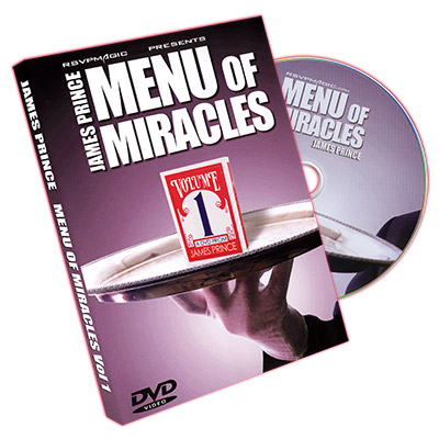 Menu of Miracles Vol. 1 by James Prince & RSVP - DVD