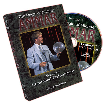 Magic of Michael Ammar #1 by Michael Ammar - DVD