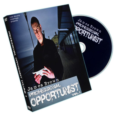 Professional Opportunist Vol. 1 by James Brown and RSVP - DVD