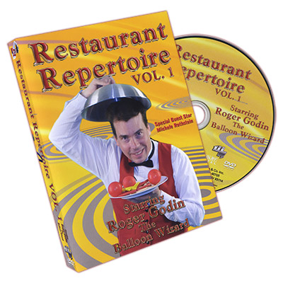 Restaurant Repertoire #1 by Roger Godin - DVD