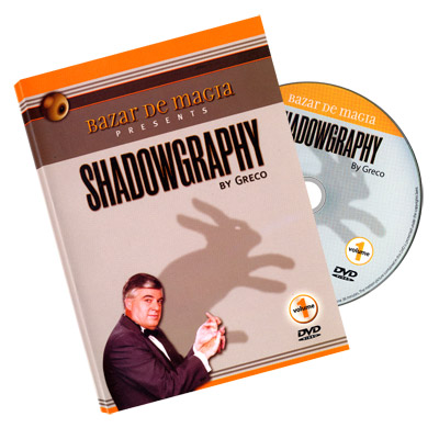 Shadowgraphy Volume 1 DVD - Carlos Greco by Bazar de Magia - DVD