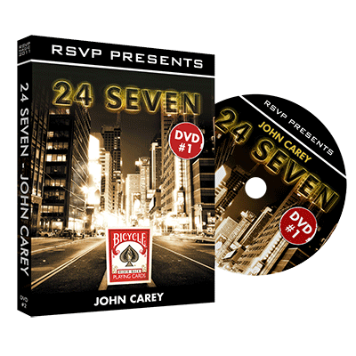 24Seven Vol. 1 by John Carey and RSVP Magic - DVD