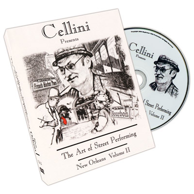 Cellini Art Of Street Performing Vol. 2 - DVD