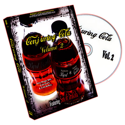 Conjuring Cola DVD Vol. 2 by Nicholas Byrd and James Coats - DVD