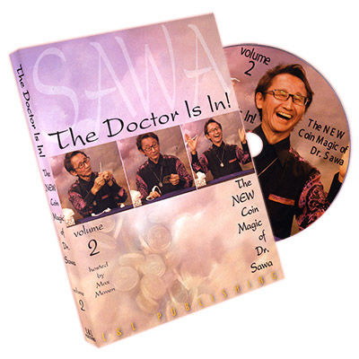 The Doctor Is In - The New Coin Trucos de Magia de Dr. Sawa Vol 2