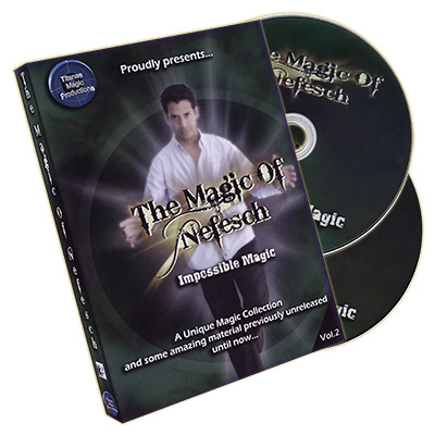 The Magic Of Nefesch Vol. 2 (2 DVD Set) by Nefesch and Titanas - DVD