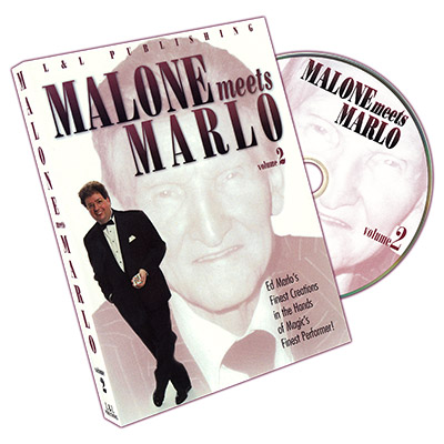 Malone Meets Marlo #2 by Bill Malone - DVD