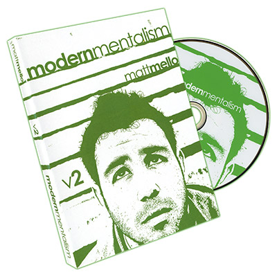 Modern Mentalism Vol. 2 by Matt Mello and Paper Crane Magic - DVD
