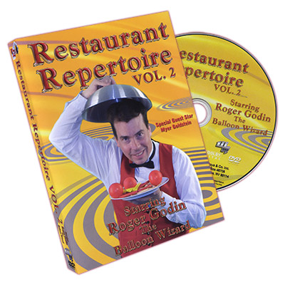 Restaurant Repertoire #2 by Roger Godin - DVD