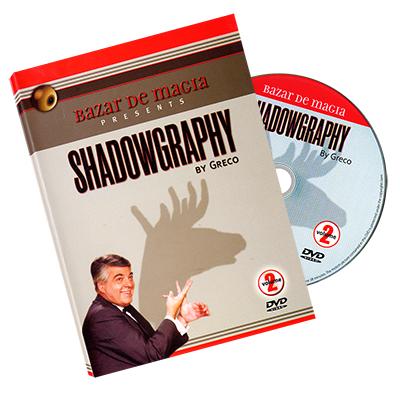 Shadowgraphy Volume 2 DVD - Carlos Greco by Bazar de Magia - DVD