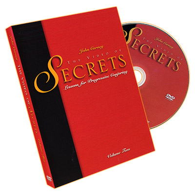 Video of Secrets Vol. 2  by John Carney - DVD